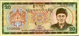 BHOUTAN 20 NGULTRUM De 1986nd  Pick 16a  UNC/NEUF - Bhoutan