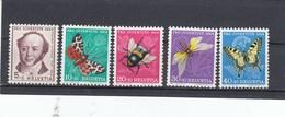 Suisse - Neufs**  -  Pro Juventute - Année 1954 - YT 553/557