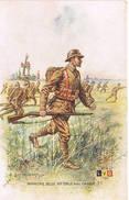 469 Infanterie Belge Tenue Avec Casque - Guerre 1914-18