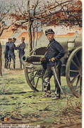 470 Artillerie Belge La Garde - Guerre 1914-18