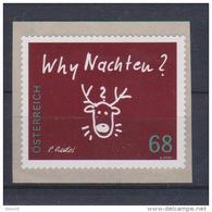 """Österreich 2015: """"Weihnachten -Why Nachten"""" Sk. Postfrisch (siehe Foto/Scan) - 1945-.... 2. Republik"""