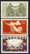 Svizzera 1919 Serie N. 170-172 Pace MNH Cat € 25 - Svizzera