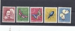 Suisse - Neufs**  -  Pro Juventute - Année 1956 - YT 581/585