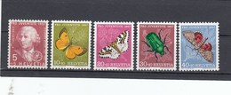 Suisse - Neufs**  -  Pro Juventute - Année 1957 - YT 597/601
