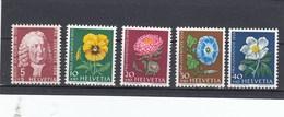 Suisse - Neufs**  -  Pro Juventute - Année 1958 - YT 616/620