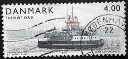 Danmark 2001 Island Ferries / Ferries De L´île   MiNr.1292 (O). (lot  D 725 )