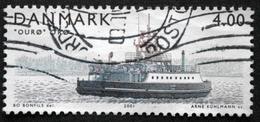 Danmark 2001 Island Ferries / Ferries De L´île   MiNr.1292 (O). (lot  D 728 )