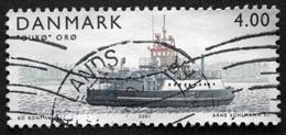 Danmark 2001 Island Ferries / Ferries De L´île   MiNr.1292 (O). (lot  D 730 )