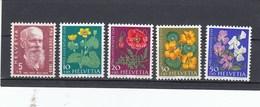 Suisse - Neufs**  -  Pro Juventute - Année 1959 - YT 634/638