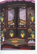 La Roulotte De Pierre Lafleur (Pierre Lafleur's Gypsy Caravan) Camargue And Nîmes (gitans) Cp Vierge 1996 Koln Transport - Frankrijk