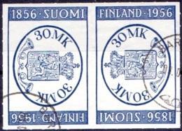 Finland 1956 Finlandia 1956 Tete Beche GB-USED - Finland