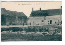 (n°583) CPA 45 Ou 70 LA PROVENCHERE  La Ferme De Domecy _ Tres Belle Carte - Non Classés