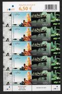 Finlande 2004 Neufs Feuiulle Complète Avec N°1671A Europa, Les Vacances
