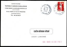 Cachet SAINT-JULIEN-BEYCHEVELLE (Médoc)