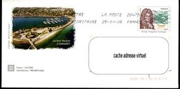 Enveloppe Illustrée R/v VAUBAN - Entiers Postaux