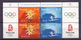 Slovenie - 2008 - Yv. 616/17  X2 - Ol. Spelen Beijing 2008 - Slovénie