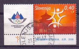Slovenie - 2008 - Yv. 616 - Ol. Spelen Beijing 2008 - Slovénie