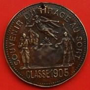 België Souvenir Du Tirage Au Sort - Classe 1905 Leopold II Roi Des Belges - Militaria