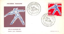 Enveloppe Premier Jour  FDC - PAPEETE - POLYNESIE FRANCAISE - Jeux Du Pacifique Sud - 1963 - FDC