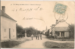 MERY ès BOIS - Route De Bourges - Francia