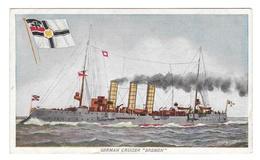 Ship German Cruiser Bremen Prudential Insurance Co Vintage Advertising Postcard - Advertising