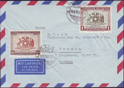 CHILE - AIR LETTER - COAT Of ARMS CHILENA - 1960