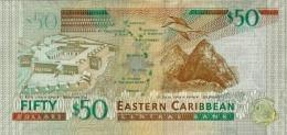 EAST CARIBBEAN STATES P. 54b 50 D 2015 UNC - Caraïbes Orientales