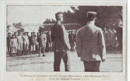 CPA Hyères - Carqueiranne - San Salvadour - Visite Du Général Gouraud TOP - Hyeres