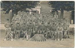 Carte Photo Militaire - Musique, Cuivres Du 131° - Regimente