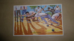 CPSM Pétanque Humoristique - Illustrateur : CARRIERE - Petanca