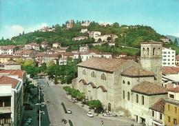Conegliano Veneto (Treviso, Veneto) Piazzale (Piazza) San Martino E Chiesa, St. Martino Square And Church - Treviso