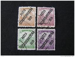 Tschechoslowakei   120 - 122 , 125  O
