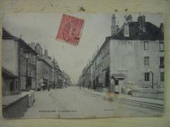 Doubs Pontarlier La Grande Rue - Pontarlier