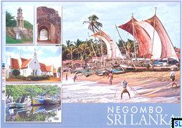 Sri Lanka Postcards, Negombo, Postcard - Sri Lanka (Ceylon)