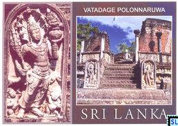 Sri Lanka Postcards, Watadage, Polonnaruwa, Buddha, Buddhism, UNESCO, Postcard - Sri Lanka (Ceylon)