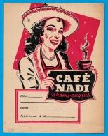 Protège-cahier D'écolier - CAFE NADI Arôme Exquis - Représentation De Figurines Sur Le CIRQUE ** Circus - Protège-cahiers