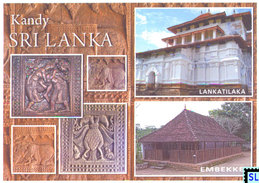 Sri Lanka Postcards, Kandy, Lankatilaka, Embekke, Postcard - Sri Lanka (Ceylon)
