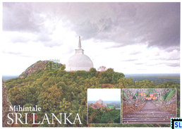 Sri Lanka Postcards, Mihintale, Buddha, Buddhism, Postcard - Sri Lanka (Ceylon)