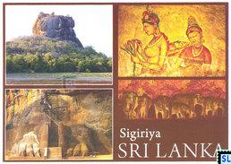 Sri Lanka Postcards, Sigiriya, Prescoes, UNESCO, Postcard - Sri Lanka (Ceylon)