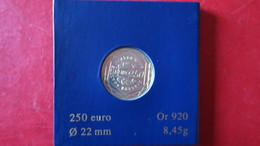 250 EUROS OR 2009 (4 Scans) - France
