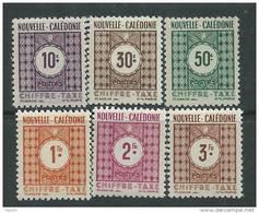 Nlle Calédonie Taxe N° 39 / 48 XX La Série Des 10 Valeurs  Sans Charnière TB