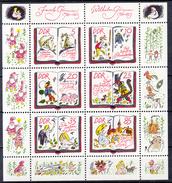 DDR - Michel - 1985 - Nr 2987/92 (Velletje) - MNH** - Blocks & Kleinbögen
