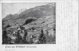 GRUSS AUS ERLENBACH → Kleines Dorf Im Simmental Gelegen Anno 1902   ►RRR◄ - BE Bern