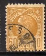 ROUMANIE YT 69 OBLITERE COTE 12 € - 1881-1918: Charles Ier