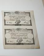 2 Assignats De 25 Sols - 1789-1795 Monnaies Constitutionnelles