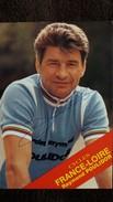 RAYMOND POULIDOR CYCLISTE CYCLES FRANCE LOIRE DEDICACE SIGNATURE DOS IMPRIME PAS MENTION CP PRINCIPALES VICTOIRES - Cyclisme