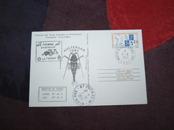 TAAF Saint Paul Et Amsterdam   11  8  1991  1er Jour Utilisation Entier Amiral Max Douguet - Covers & Documents