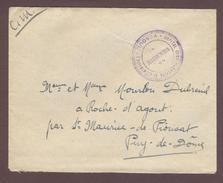 Franchise Militaire Service Santé *   Hôpital Complémentaire N° 39 ( Séminaire) VESOUL    * 1914 - 1918 Haute-Saône