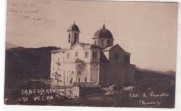 Chiavari - Santuario Di Velva Fotografica Viaggiata 1910  D584 - Italie