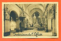 """CPA L'isle En Dodon """" Interieur De L'église """" LJCP 31 - France"""